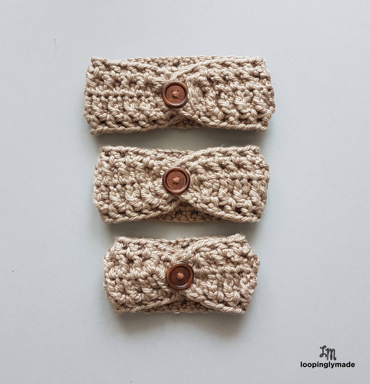 Super Quick and Chunky Headband- Free Crochet Pattern 825145f2240
