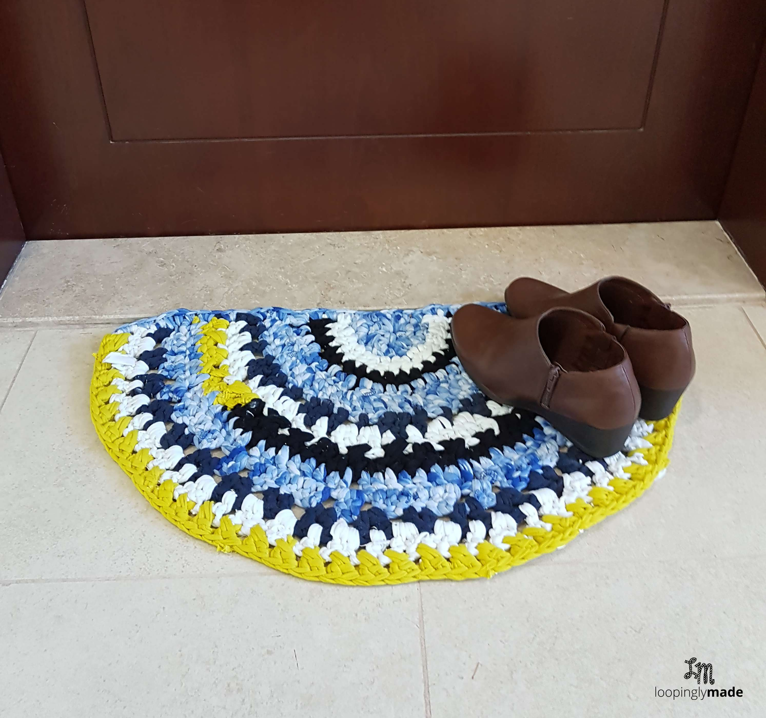 Crochet T Shirt Rag Rug A Great Do It Yourself Project For Your Space
