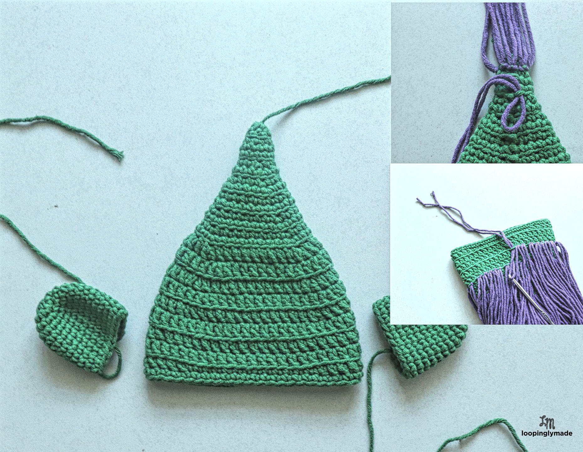Crochet Newborn Trolls Hat- Free Pattern 1h 21bc25b5b76